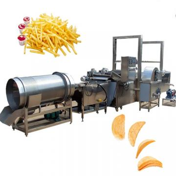 100/150/260/400kg/H Full Automatic Cassava Plantain Banana Potato Chips Making Production Line